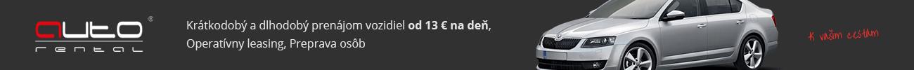 Autopožičovňa Auto-Rental Bratislava