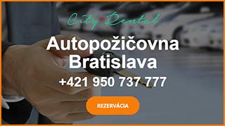 Autopožičovňa City Rental Bratislava